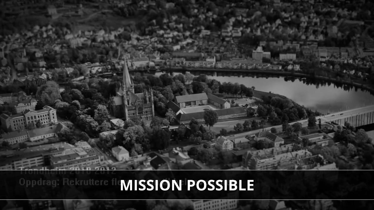 Menn i helsevesenet – Mission Possible